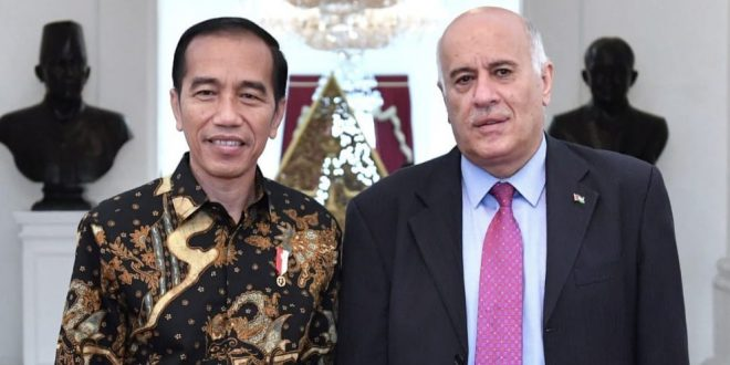 PALESTINA APRESIASI KONSISTENSI DUKUNGAN INDONESIA SELAMA INI
