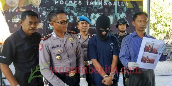 CURI MURAI MEDAN, SEORANG BAPAK RUMAH TANGGA DITANGKAP POLISI