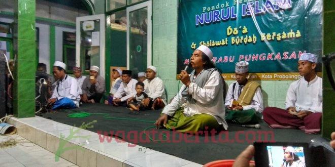 HINDARI BALAK MUSIBAH, SANTRI NURUL ISLAM PROBOLINGGO GELAR RABO PUNGKASAN